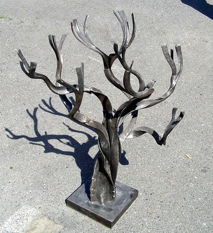 Как сделать металлическое дерево 283
